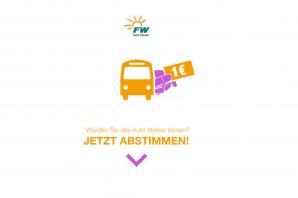 1 Euro Ticket in ERH? Sagen Sie uns Ihre Meinung!