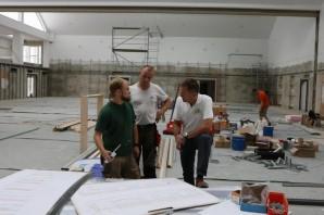 Umbau der Schulturnhalle ist bald fertig – Einweihung am 20.Oktober