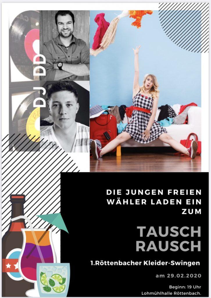 Tausch Rausch - Junge Freie Wähler Röttenbach